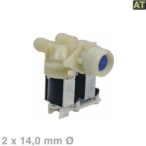 Klick zeigt Details von Magnetventil 2-fach 180° 14,0mmØ, AT!