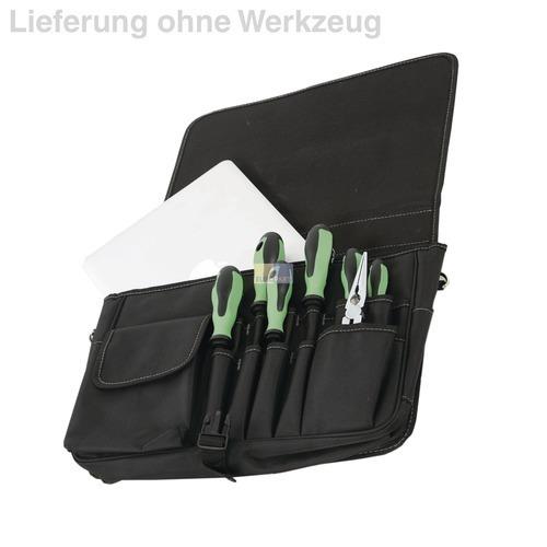 Klick zeigt Details von Werkzeugtasche aus Polytex Hepco&Becker 00 5851 8019 Techniker-Kombitasche klein