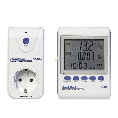 Klick zeigt Details von Energie-Monitor PT9040