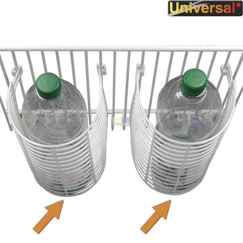 Klick zeigt Details von Abstellboden-Zusatzablage 272x202mm Flaschenablage Universal!, 2 Stück