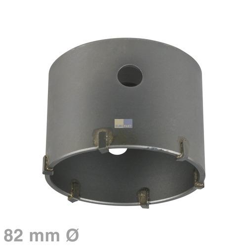 Klick zeigt Details von Diamant-Trockenbohrkrone 82mm