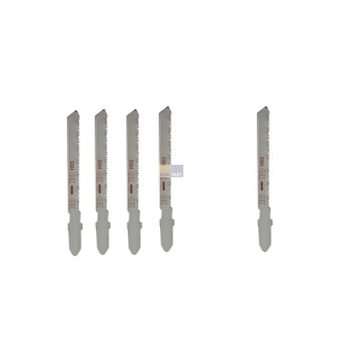 Klick zeigt Details von Metallsägeblatt für Stichsäge, 5 Stück