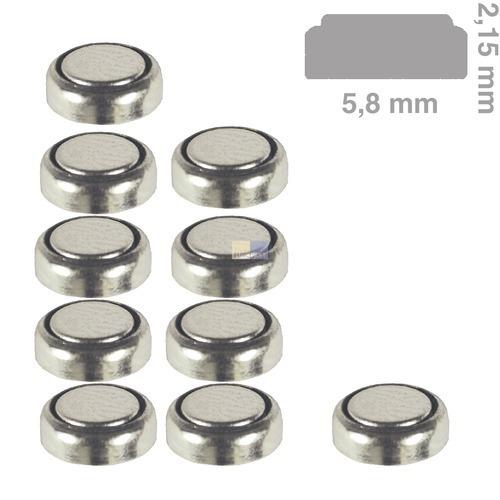 Klick zeigt Details von Knopfzelle AG0 Camelion, passend wie LR521, 379, 10 Stück