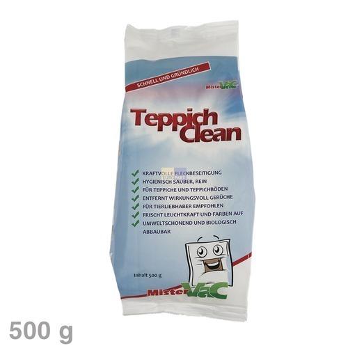 Klick zeigt Details von Teppich-Reinigungspulver TeppichClean 500g