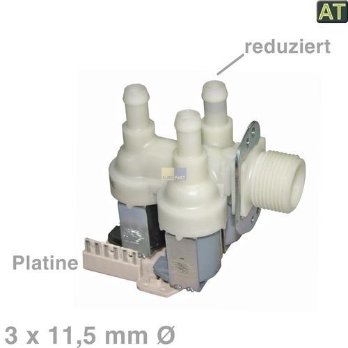Klick zeigt Details von Magnetventil 3-fach 90° 11,5mmØ, AT!  wie Miele 4035200