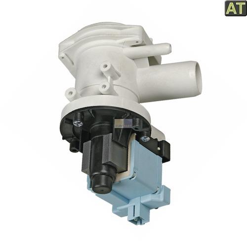 Klick zeigt Details von Ablaufpumpe mit Pumpenstutzen und Flusensiebeinsatz, AT!