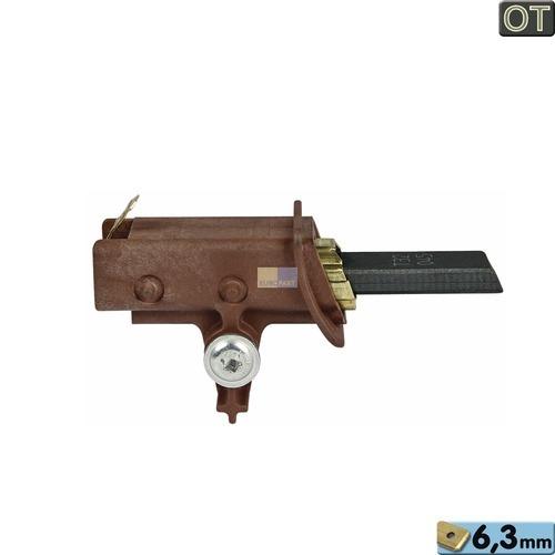 Klick zeigt Details von Kohle kpl. mit Halter 6,3mmAMP mit Schraube, 1 Stück