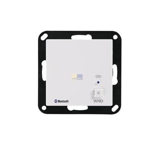 Klick zeigt Details von Bluetooth-Receiver Unterputz weiß, WHD BTR55MK2