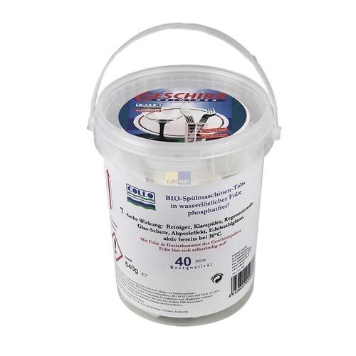 Klick zeigt Details von Spülmaschinen-Reiniger Tabs Collo schirrspül 7in1, 40 Tabs 640g