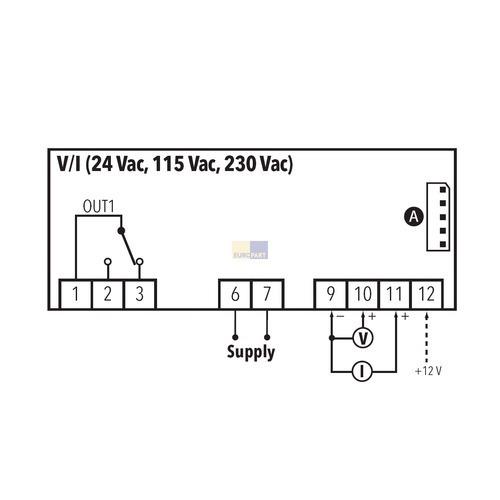 Temperaturregler ICPlus902V/I • elektroservice-shop.de