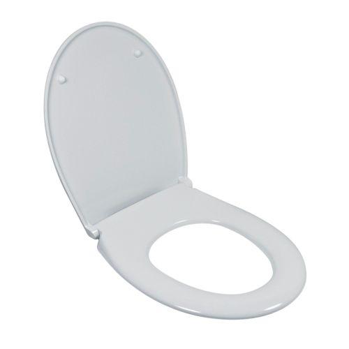 WC-Sitz Siena Duroplast-Kunststoff weiß mit Soft-Schließ-Komfort