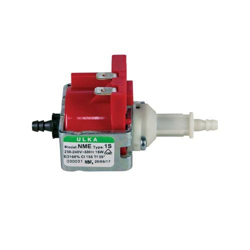 Klick zeigt Details von Pumpe Ulka NME1S 16W 230V Universal Alternative u.a. für Kaffeemaschine