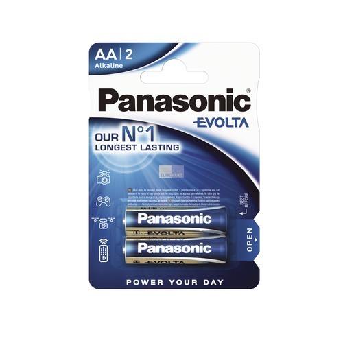 Klick zeigt Details von Akku Mignon P6 Panasonic bis 2450mAh 2Stk