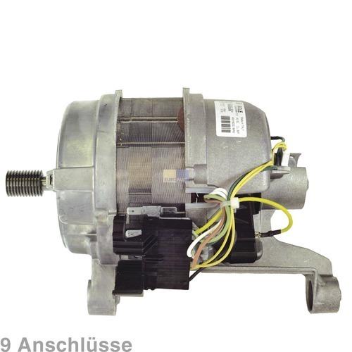 Klick zeigt Details von Antriebesmotor 9 Anschlüsse Waschmaschine AEG PRIVILEG HANSEATIC 124920305