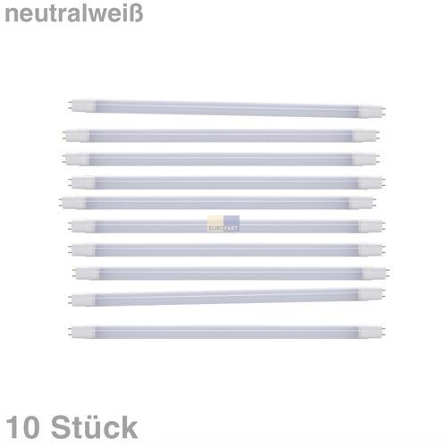 Klick zeigt Details von LED-Lampe Röhre 60cm 9W 230V matt neutralweiß, 10 Stück