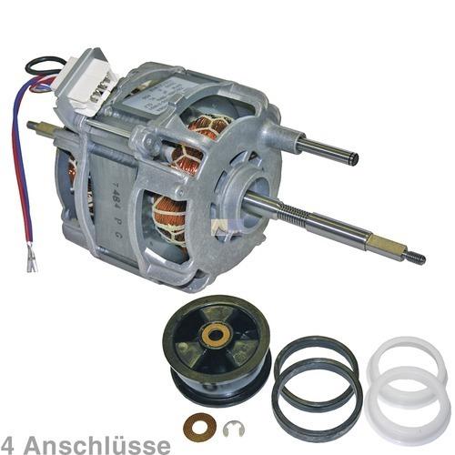 Klick zeigt Details von Antriebsmotor Motor Trockner 112099123 01009026 AEG Quelle 4 Anschlüsse