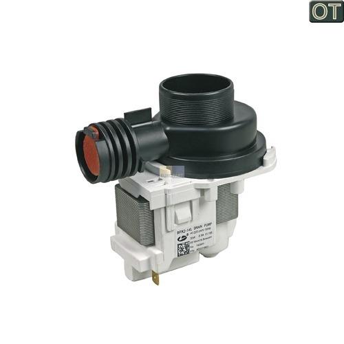 Klick zeigt Details von Ablaufpumpe mit Pumpenstutzen