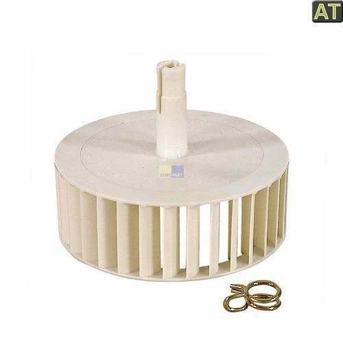 Klick zeigt Details von Lüfterrad Lüfter wie AEG 899647408116 Gebläserad Trockner Elektrolux Zanker