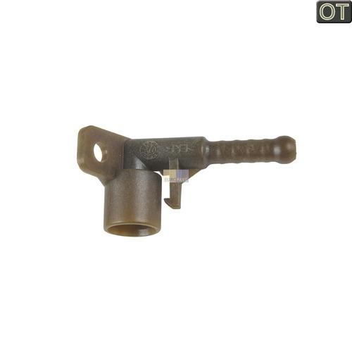 Klick zeigt Details von Dampfrohranschluss braun