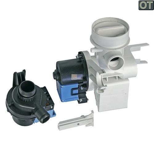 Klick zeigt Details von Pumpeneinheit Ablaufpumpe + Umwälzpumpe  WA, AEG 110537402/7 Original