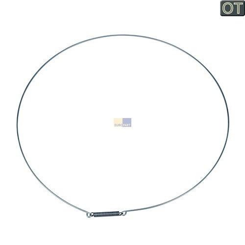 Klick zeigt Details von Spannring Türmanschette vorne AEG 110851700 Spann Ring für Waschmaschine