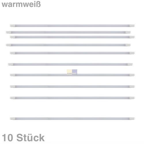 Klick zeigt Details von LED-Lampe Röhre 120cm 18W 230V matt warmweiß, 10 Stück