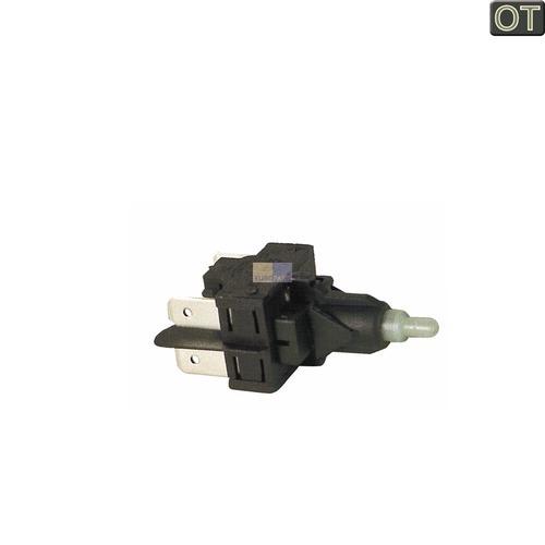 Klick zeigt Details von Schalter Waschmaschine Tastenschalter 1fach C00030358 Indesit