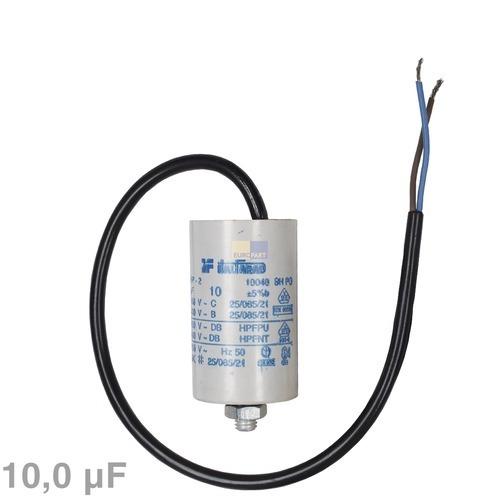 Kondensator 10,00µF 450V mit Anschlusskabel