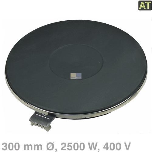 Klick zeigt Details von Kochplatte 300mmØ 2500W 400V  EGO 12.30453.195