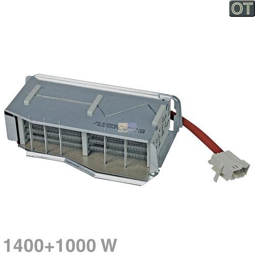 Klick zeigt Details von Heizelement Heizregister 1400+1000W 230V