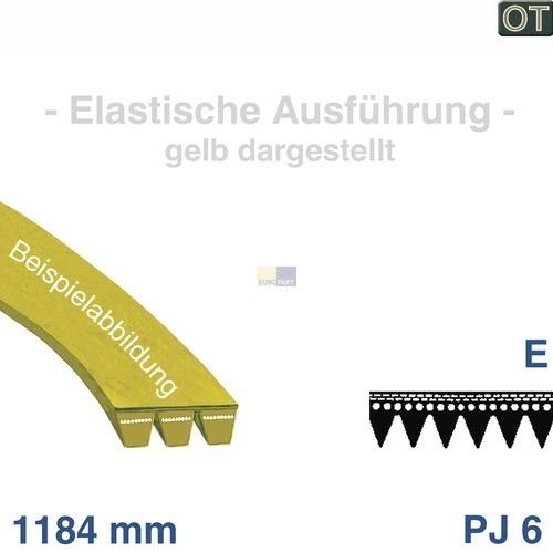 Klick zeigt Details von Antriebsriemen AEG Zanussi Electrolux Zanker IKEA
