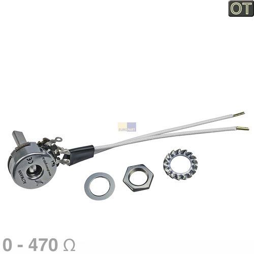 Klick zeigt Details von Potentiometer 0-470 Ohm