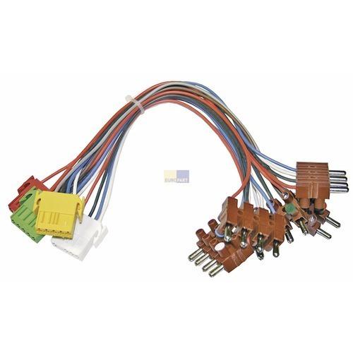 Klick zeigt Details von Adapterkabel Backofen Herd 481231028168 für Kochfeld Bauknecht