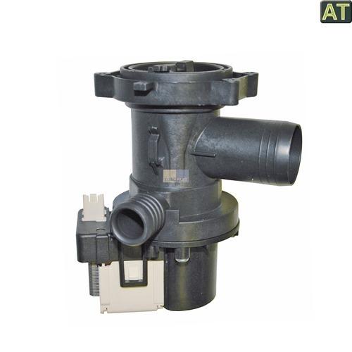 Klick zeigt Details von Ablaufpumpe Pumpe Ablauf Waschmaschine 480111101014 Bauknecht
