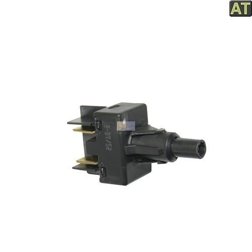 Klick zeigt Details von Tastenschalter 1-fach AT! Whirlpool 481227628372 Ein/Aus Schalter für Spülmaschine