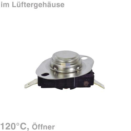Klick zeigt Details von Schutzthermostat 120° TR, GORENJE 606535