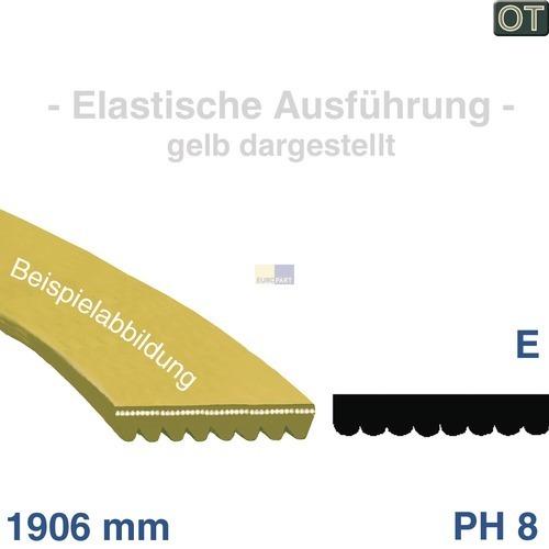 Klick zeigt Details von Poly-V-Riemen 1906 PH 8 EL, TR  GORENJE 104265