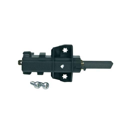 Klick zeigt Details von Kohle kpl. mit Halter 4,8mmAMP Farbpunkt weiß für CESET-Motoren