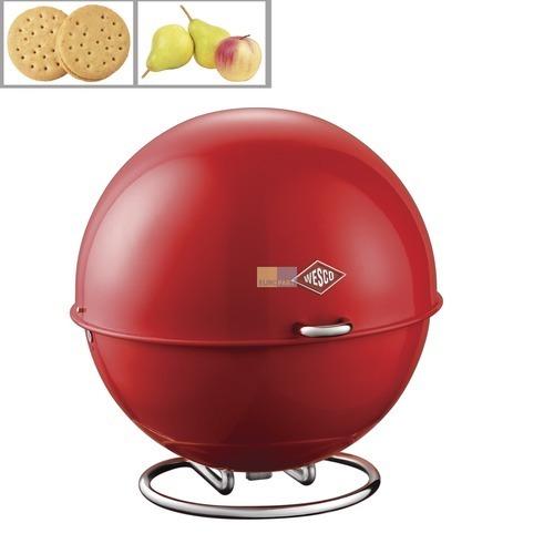 Klick zeigt Details von Aufbewahrungsbehälter Superball Farbe rot