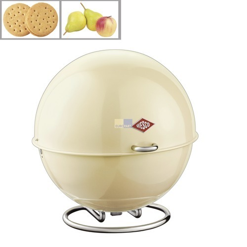 Klick zeigt Details von Aufbewahrungsbehälter Superball Farbe mandel