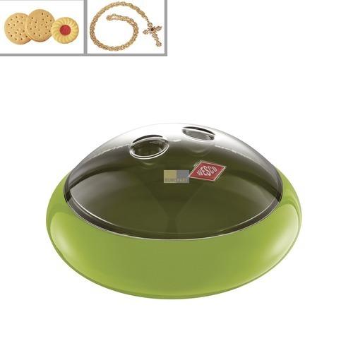Klick zeigt Details von Aufbewahrungsbehälter SpacyPeppy 23cmØ Farbe limegreen