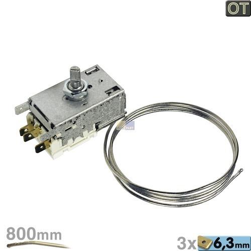 Thermostat K59-L2672 Ranco 800mm Kapillarrohr 3x6,3mm AMP