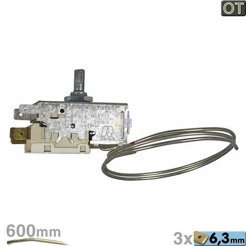 Thermostat K59-L1903 Ranco 600mm Kapillarrohr 3x6,3mm AMP OT!