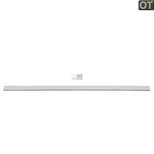 Klick zeigt Details von Kühlschrank Gefrierschrank Glasplatten Leiste vorne 234280772 AEG Electrolux Juno