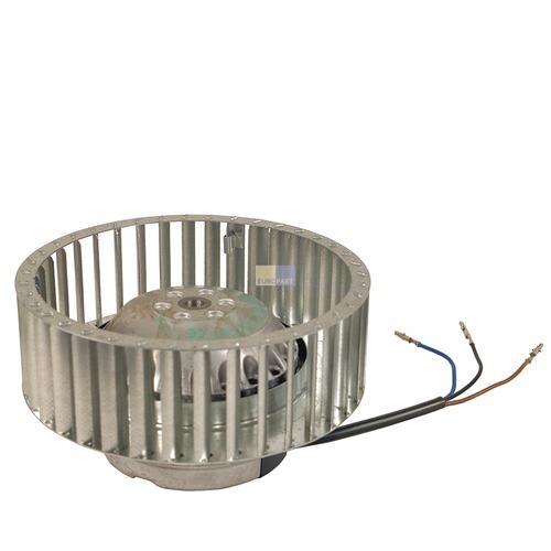 Klick zeigt Details von Lüftermotor Trockner Whirlpool Bauknecht Bosch Constructa Foron Ignis Neff Philips Siemens Electrolux Merker Schulthess Novamatic DeDietrich Interfunk
