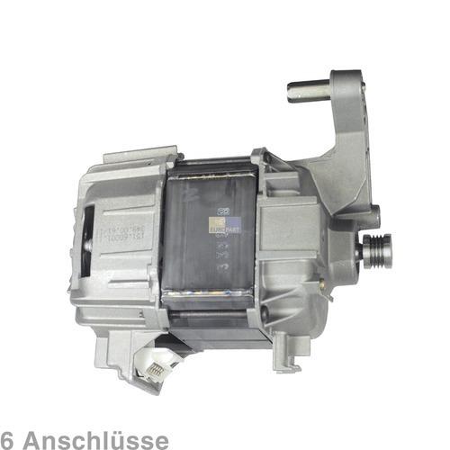 Klick zeigt Details von Motor Waschmaschine 6 Anschlüsse Bosch Neff Constructa Siemens Quelle DeDietrich Merker Schulthess Novamatic Neckermann