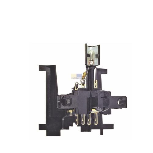 Klick zeigt Details von Schalter Geschirrspüler Tastenschalter 1fach 053961 481927628108 424141 01275544 Bosch Bauknecht Küppersbusch Quelle
