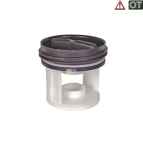 Klick zeigt Details von Flusensiebeinsatz BOSCH 00601996 Original für Waschmaschine