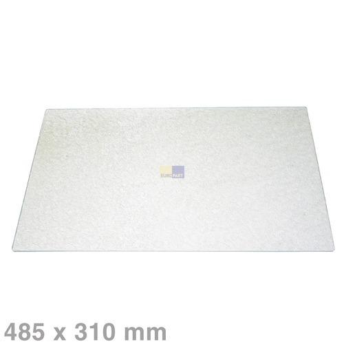 Glasplatte 485x310mm BOSCH 00110440 für Gemüsefach