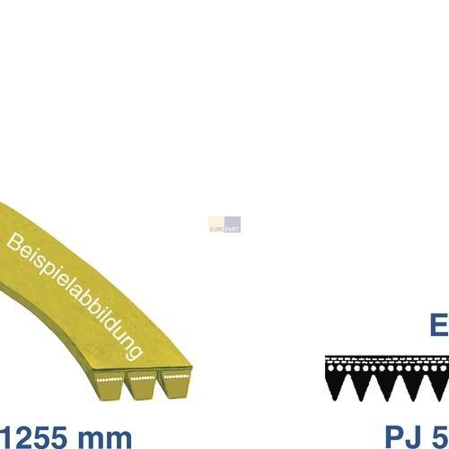 Klick zeigt Details von Riemen 1255 J5 EL, OT! WA  BSH 00439490